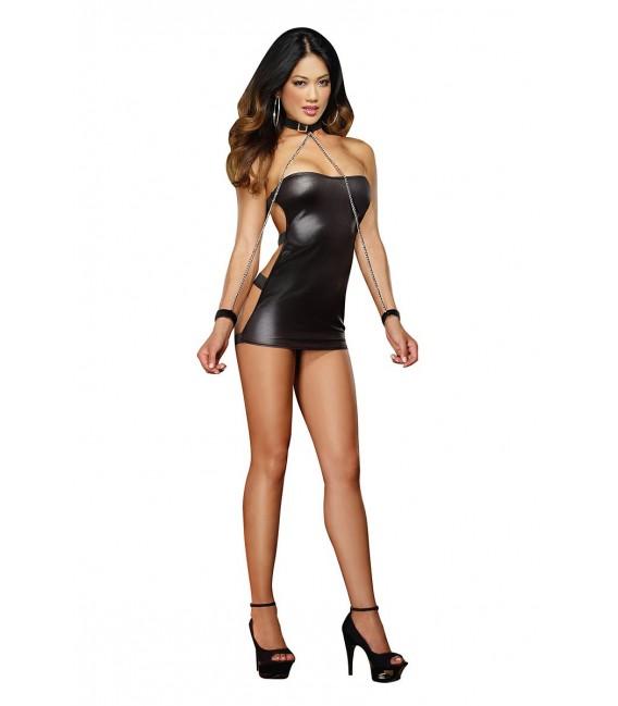 Kleid DR8669 schwarz Bild 5