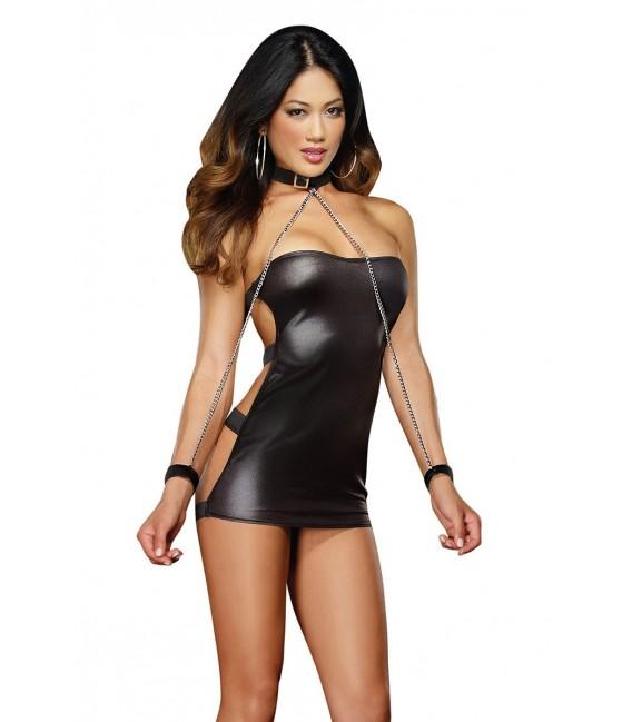 Kleid DR8669 schwarz Bild 7
