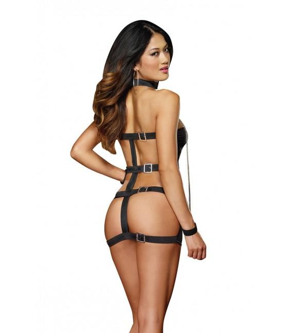 Kleid DR8669 schwarz Bild 8