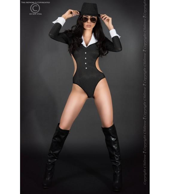 Sexy Gangster Kostüm CR3798 Bild 5 Großbild