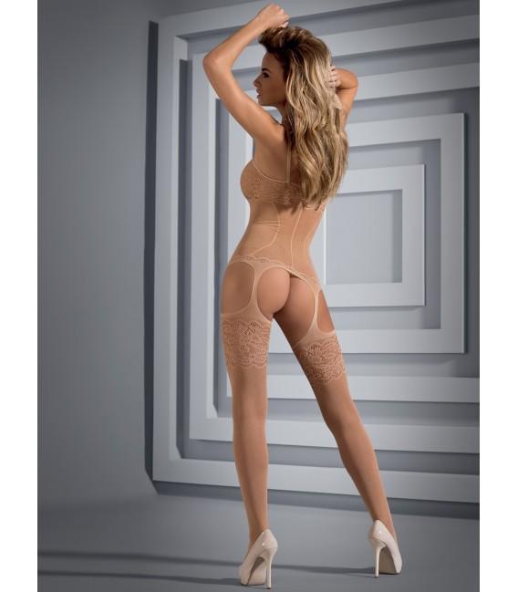 Bodystocking F204 nude Bild 2