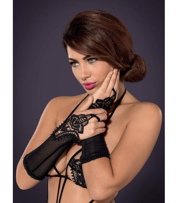 Luiza Handschuhe schwarz Großbild