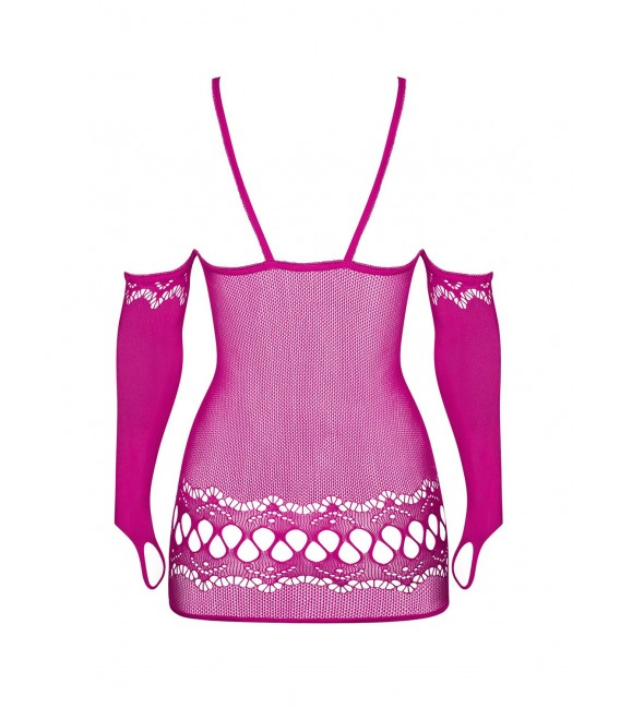 Minikleid D214 pink Bild 6