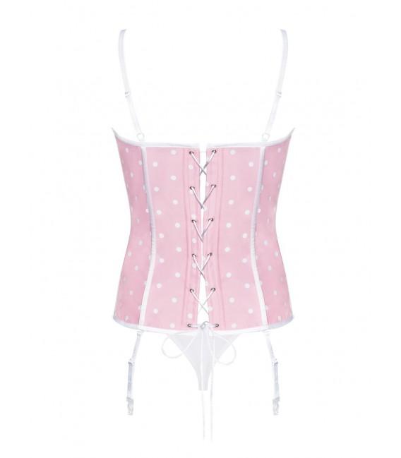 Dottie Corsage rosa/weiß Bild 6