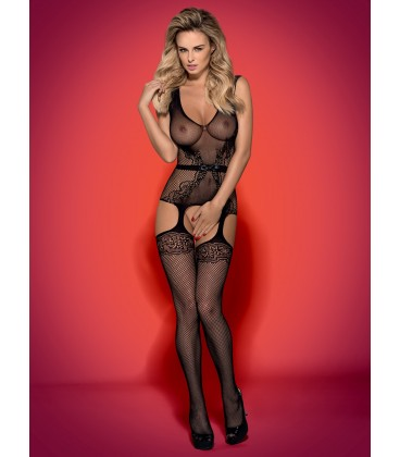 Bodystocking F217 schwarz