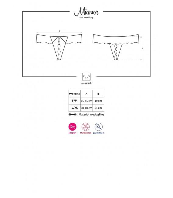 Miamor Crotchless Thong Bild 7 Großbild