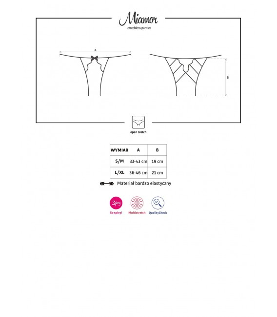 Miamor Crotchless Panties Bild 7 Großbild