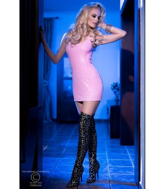 3D-Minikleid CR4016 pink Bild 3