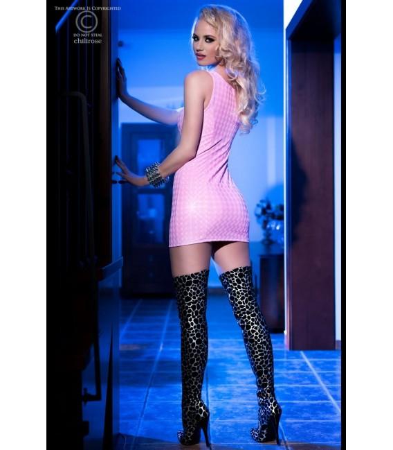 3D-Minikleid CR4016 pink Bild 4
