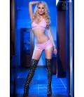 Top + Shorts CR4017 pink Bild 3
