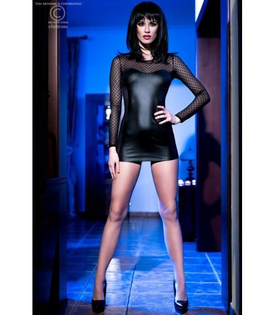 Minikleid CR4034 schwarz Bild 3 Großbild