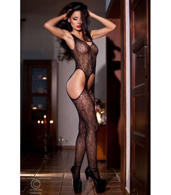 Bodystocking CR4055 schwarz