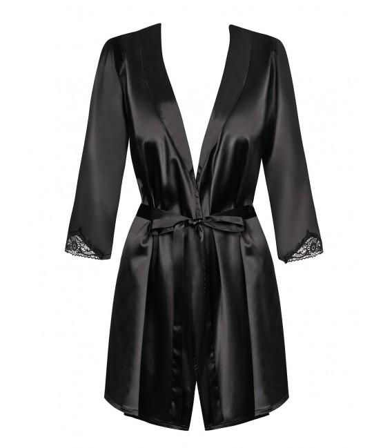 Satinia Robe schwarz Bild 3 Großbild