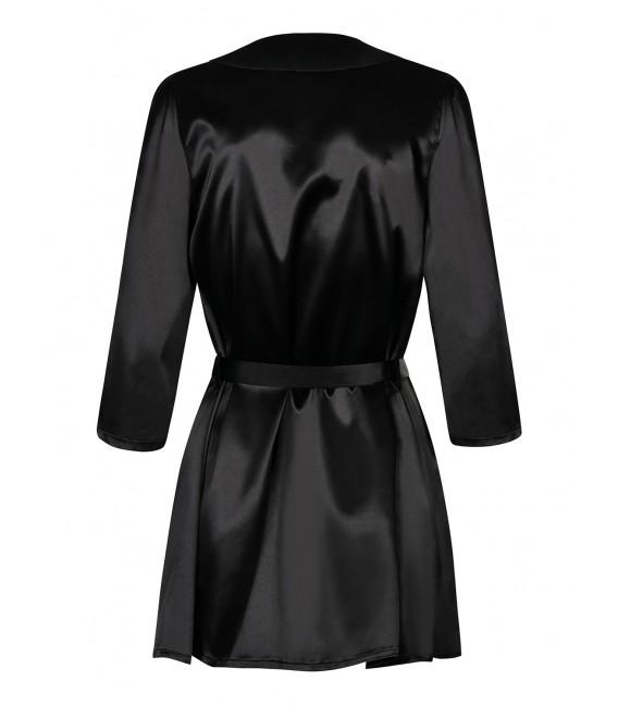 Satinia Robe schwarz Bild 4 Großbild