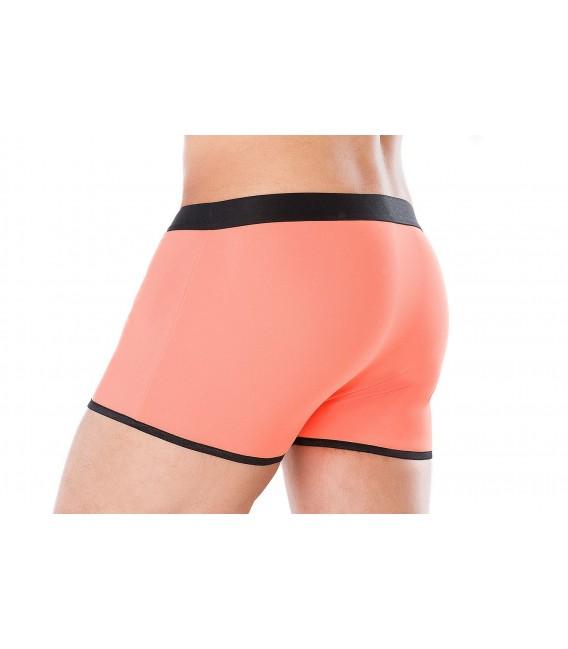 Boxershorts orange/schwarz MC/9075 Bild 2