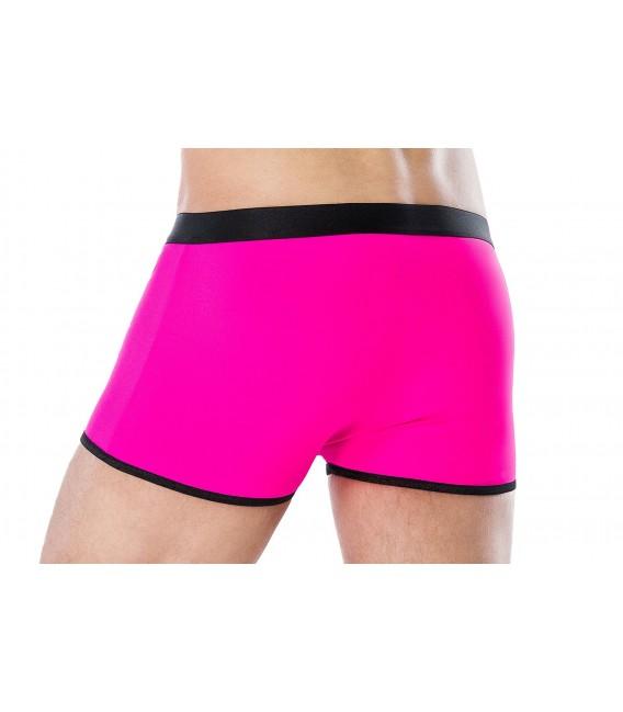 Boxershorts pink/schwarz MC/9077 Bild 2