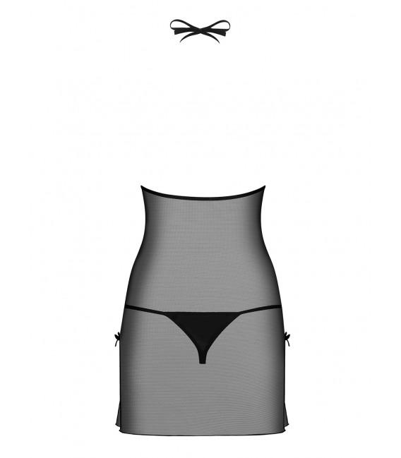 Bisquitta Chemise schwarz/beige Bild 6