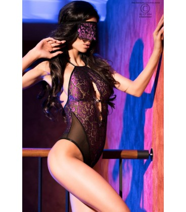 Body CR4075 schwarz/violett