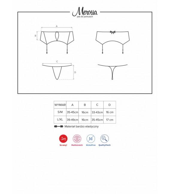 Merossa Garter Belt & Thong Bild 7