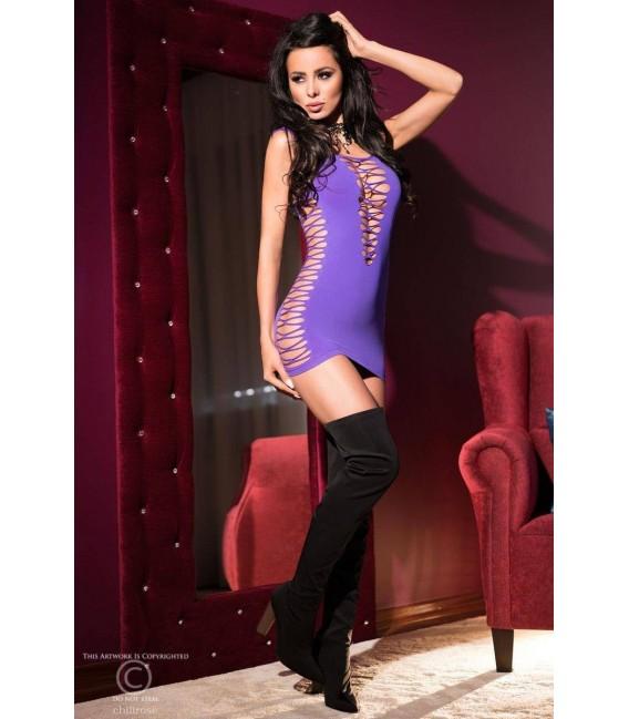 Minikleid CR4096 violett Bild 3