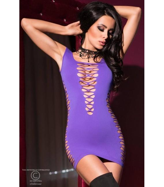 Minikleid CR4096 violett Bild 5