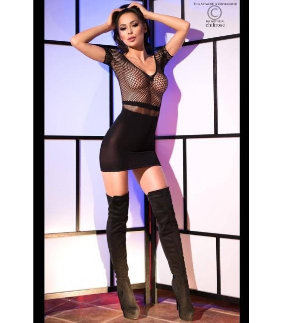Minikleid CR4108 schwarz Bild 3 Großbild