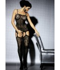 OB- Body Stocking F204 Schwarz