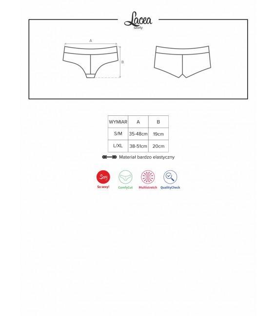 Lacea Shorties Duopack schwarz & weiß Bild 12