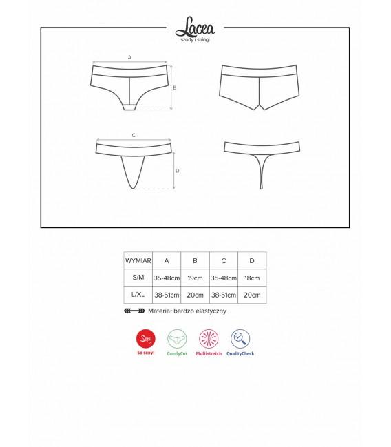 Lacea Shorties & String Duopack gelb Bild 12