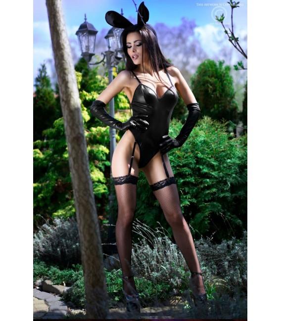 Bunny-Kostüm CR4124 schwarz Bild 5 Großbild