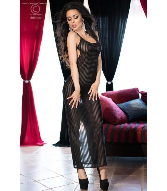 Langes Kleid CR4137 schwarz Bild 3