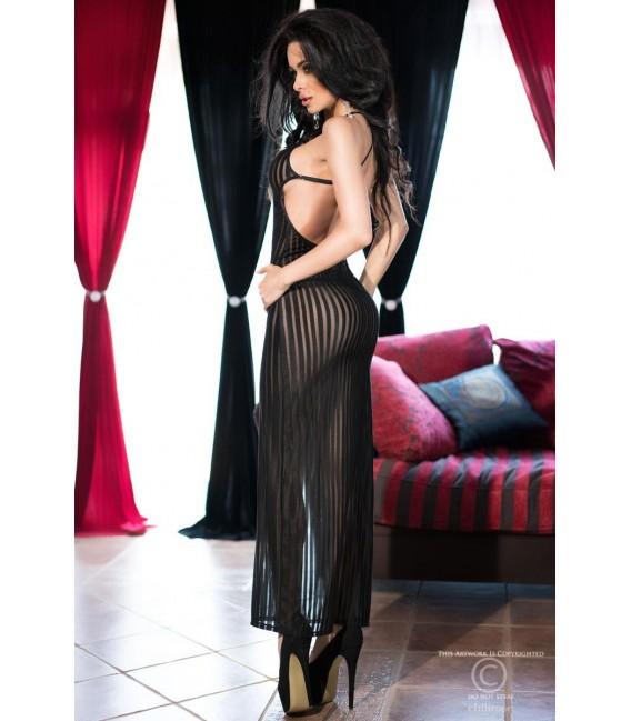 Langes Kleid CR4137 schwarz Bild 4