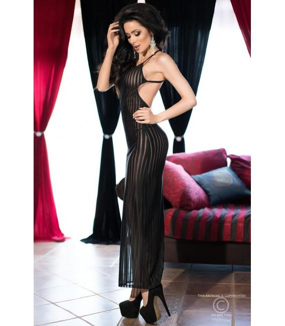 Langes Kleid CR4137 schwarz Bild 5