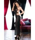 Langes Kleid CR4137 schwarz