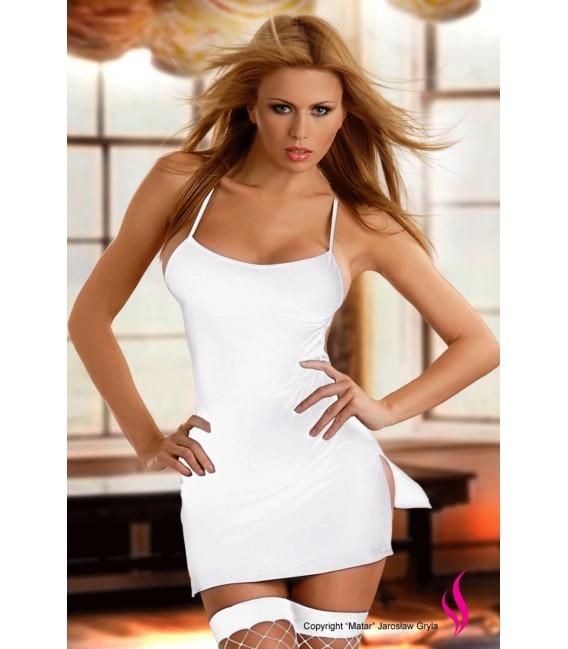 Wunderschön weißes Minikleid Aton - Passion Dessous