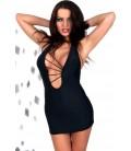 schwarzes Kleid Malibu - PASSION