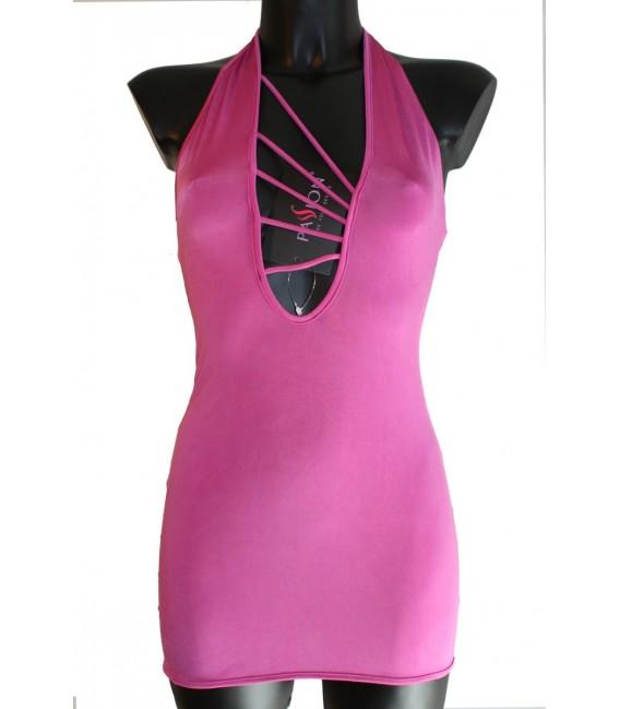 pinkes Kleid Malibu - PASSION Großbild