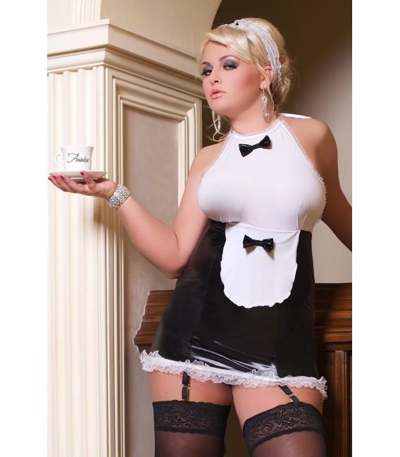 Outfit Dienstmädchen S/3035 Luxe Waitress von Andalea Dessous Großbild