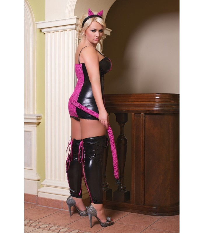 separation shoes 936f1 277ee Katzen-Outfit S/3037 pink Cat von Andalea Dessous
