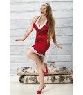 rotes Weihnachtskleid Snow Flake von Andalea Dessous