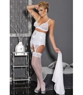 weißes Set M/1038 White Dream von Andalea Dessous