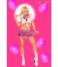 5-teiliges Schulmädchen Outfit Miss Lolita von Provocative Dessous