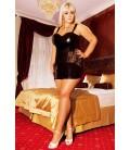 schwarzes Nachtkleid S/3014 Oksana von Andalea Dessous