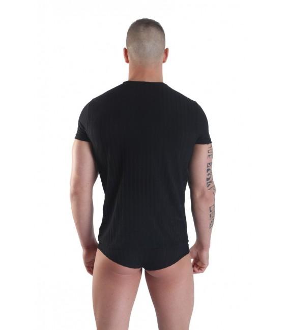 schwarzes Herren T-Shirt Sinners von Look Me
