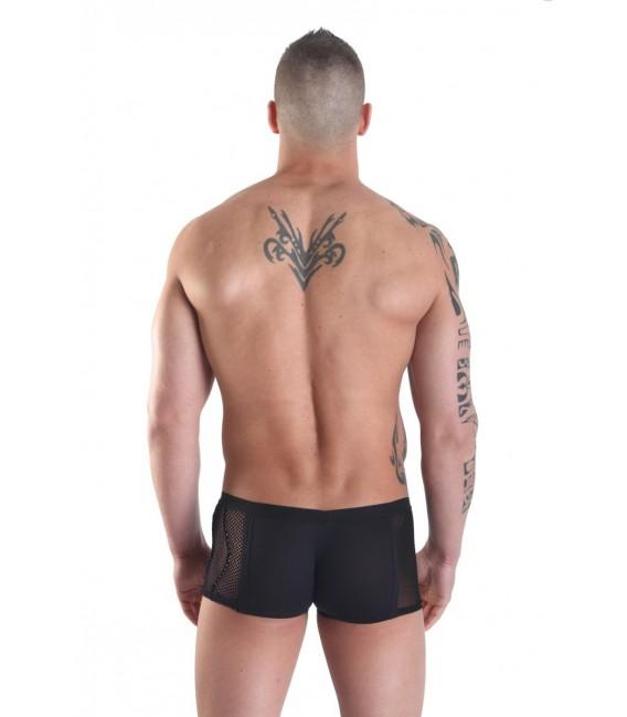 schwarzer Herren Boxer Visible Man von Look Me Großbild