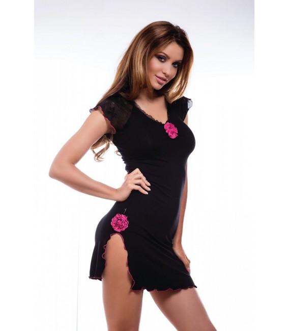 schwarzes Kleid Coctail von Hamana Dessous Großbild