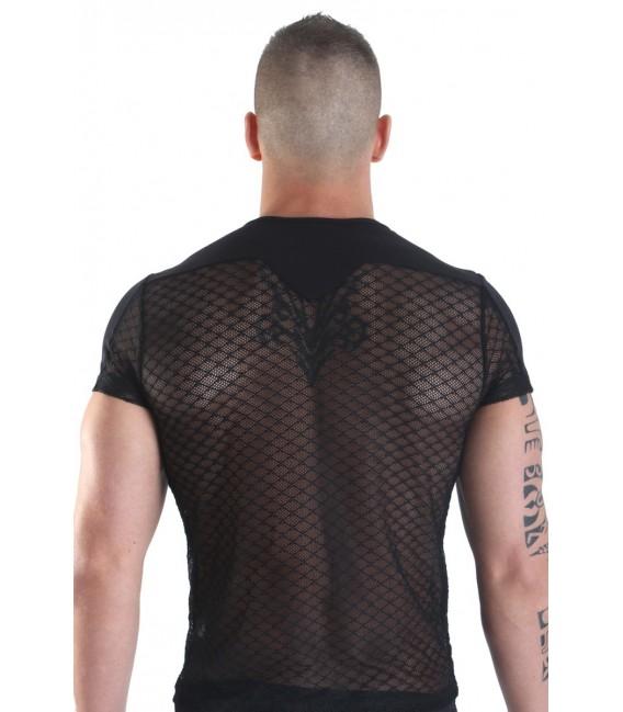 schwarzes T-Shirt Jump Street von Look Me Großbild