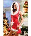 rotes Christmas Outfit Santa von Hamana Dessous