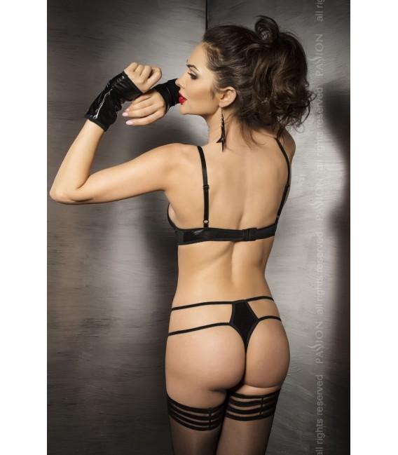 schwarzer String-Body Agawa von Passion Dessous Großbild