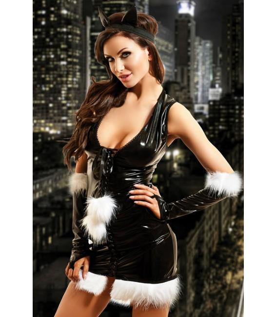 Wetlook-Kostüm Kitty Dress von Hamana Dessous Großbild